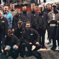Übergabe der T-Shirts und Jacken durch den SPD-Ortsverein Meeder an die Jugendfeuerwehr Meeder